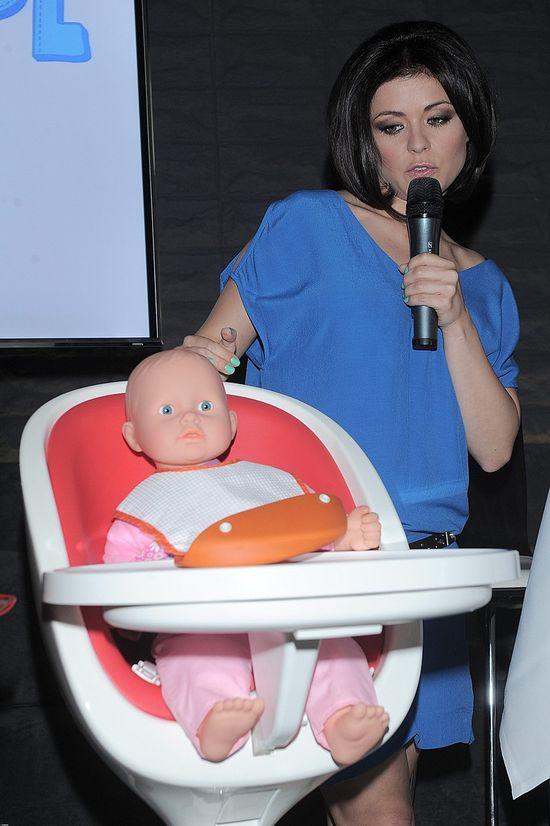 U Kasi Cichopek jeszcze nie widać ciążowego brzuszka (FOTO)