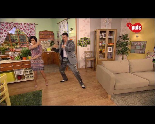 MASAKRA. Cichopek tańczy disco polo w telewizji śniadaniowej
