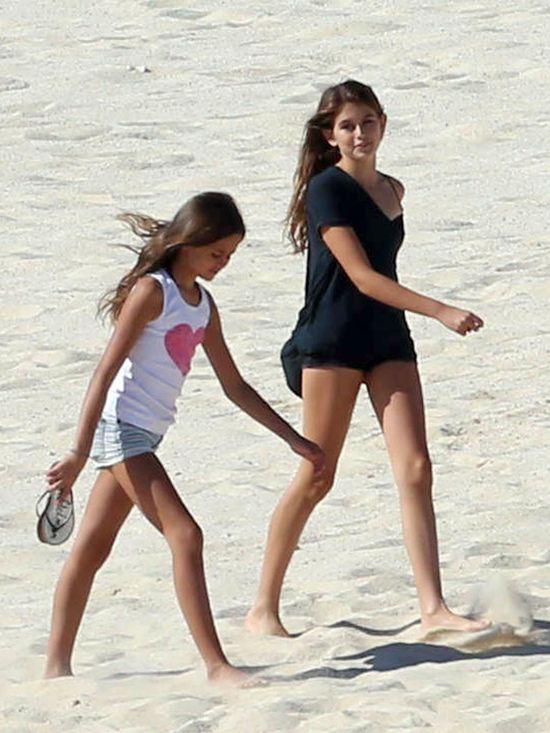 Będzie supermodelką tak, jak jej mama? (FOTO)