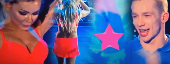 Wpadka Oli Ciupy w Celebrity Splash, spadły jej majtki VIDEO