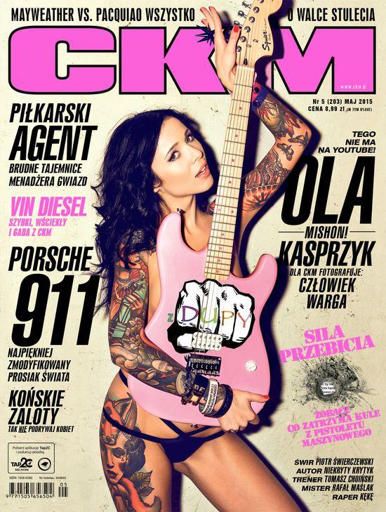 Aleksandra Kasprzyk w najnowszym numerze CKM