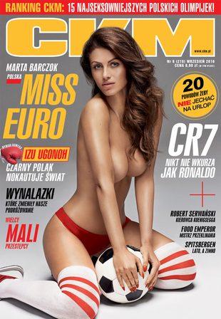 Marta Barczok, Miss Euro 2016, w nowym numerze CKM (FOTO)