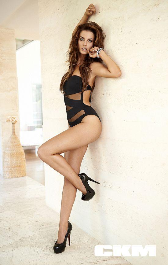 Justyna Pawlicka z Top Model w najnowszym CKM-ie (FOTO)