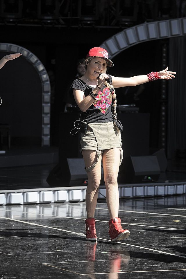 Cleo bez swojej słynnej spódniczki (FOTO)