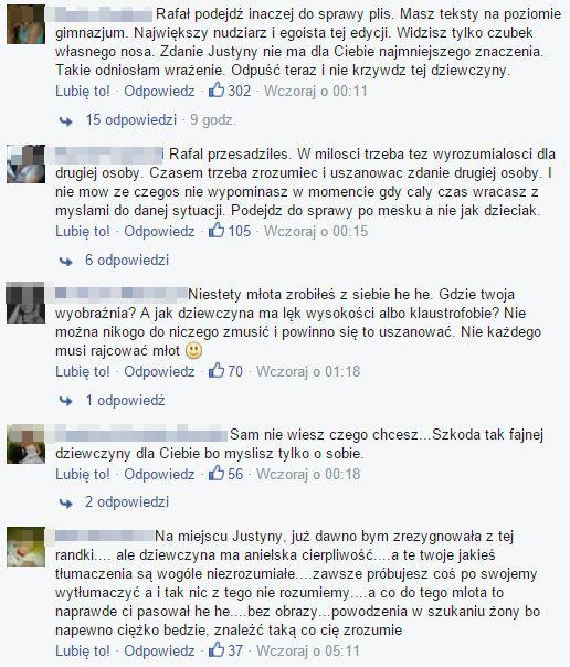 Lawina hejtu pod adresem Rafała z Rolnik szuka żony (FB)