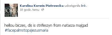 Korwin-Piotrowska o kolekcji Urbańskiej: Hellou biczes! FOTO