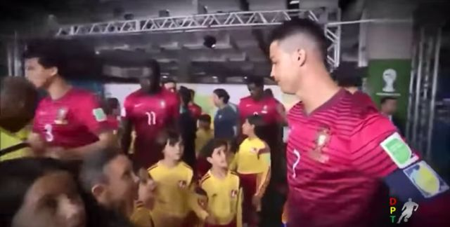 To video z Cristiano Ronaldo robi furorę w sieci (VIDEO)