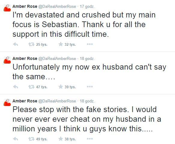 Amber Rose przerywa milczenie!