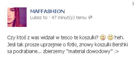 Znana sieć podrabia koszulki z Maffashion? (FOTO)