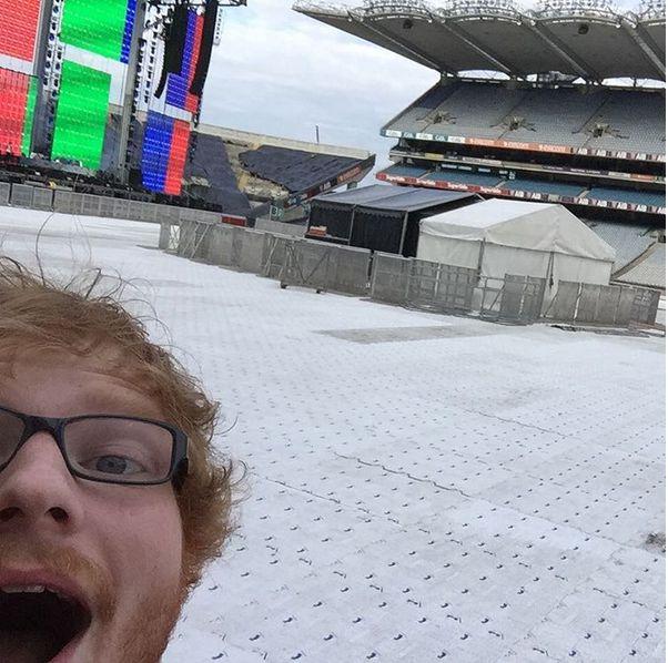 Ed Sheeran wszystkich nas oszukał (Instagram)