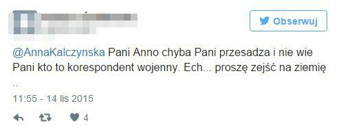 Anna Kalczyńska mocno oberwała za relację z Paryża (Twitter)