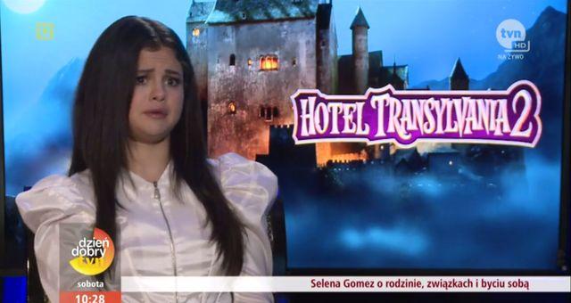 Anna Wendzikowska zadała Selenie Gomez niewygodne pytanie