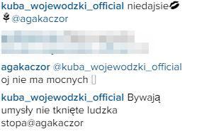 Wojewódzki mocno posłodził Agnieszce Kaczorowskiej (Insta)