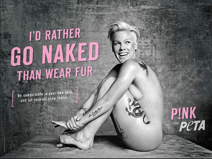 Chcecie zobaczyć Pink zupełnie nago? (FOTO)