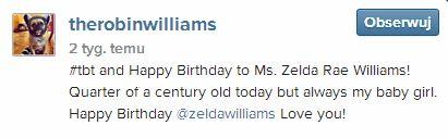 Ostatni post na Instagramie Robina Williamsa jest... (FOTO)