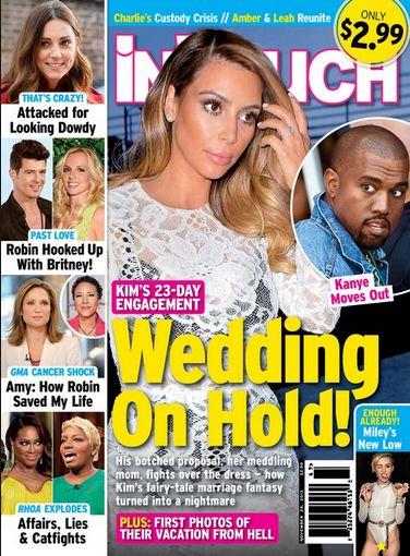 Kanye West ma pewne obawy związane ze ślubem!