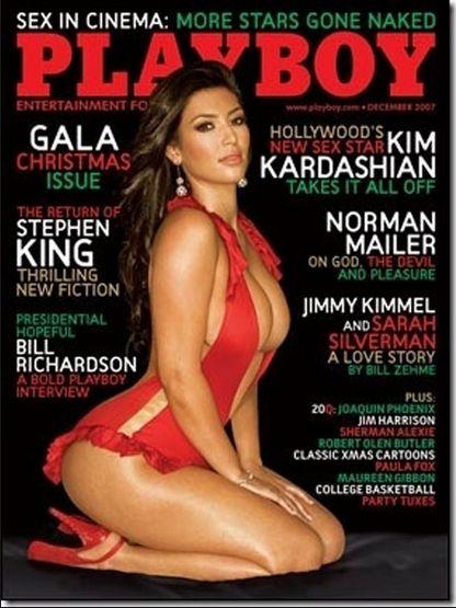 Kim Kardashian ponownie rozbierze się w Playboyu? FOTO+VIDEO