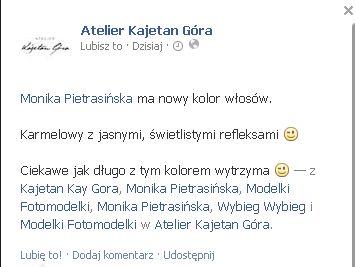 Monika Pietrasińska ponownie przefarbowała włosy! (FOTO)