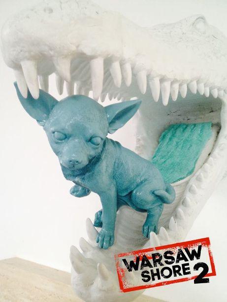 Jeden z uczestników opuszcza Warsaw Shore