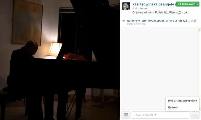 Kasia Sowińska na prywatnym koncercie nagrodzonego na Grammy
