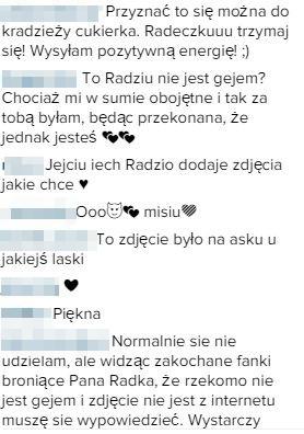 Radek Pestka w gorącym pocałunku ze swoją dziewczyną (Insta)