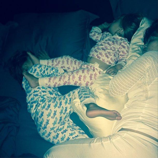 Kourtney Kardashian wie, że usypianie dzieci to wyzwanie