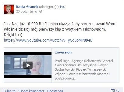 Kasia Stanek z The Voice nagra�a pierwszy klip (VIDEO)