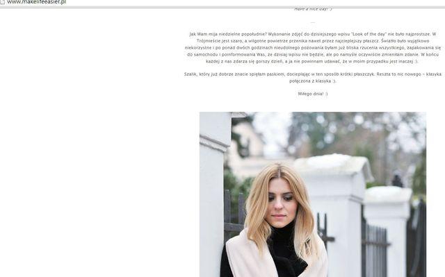 Kasia Tusk żali się na blogu