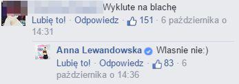 To video Lewandowskiej wywołało lawinę krytyki (FB)