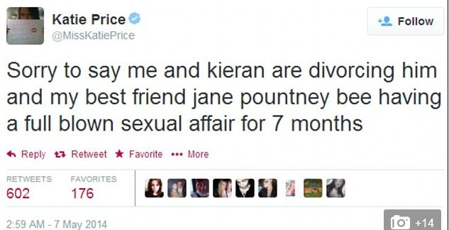 Ciężarna Katie Price żąda rozwodu!