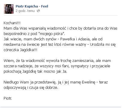 Piotr Kupicha został OJCEM!