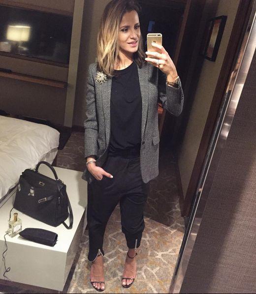 Sara Boruc te� stroi c�rki do szko�y (Instagram)