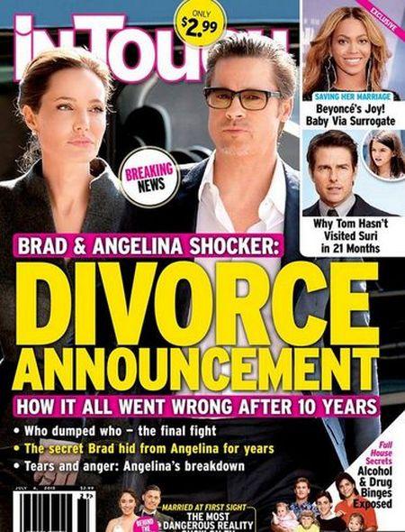 Angelina Jolie i Brad Pitt ROZWODZĄ SIĘ!
