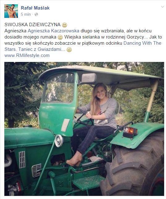 Ma�lak: Kaczorowska wreszcie dosiad�a mojego rumaka (FOTO)