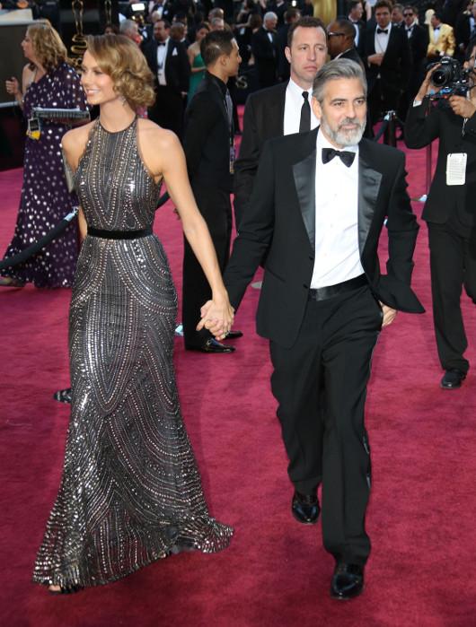 George Clooney nadal jest ze Stacy Keibler