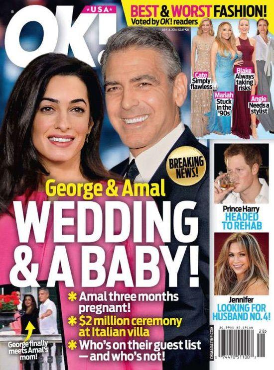 Zbli�a si� �lub Clooneya i Amal Alamuddin