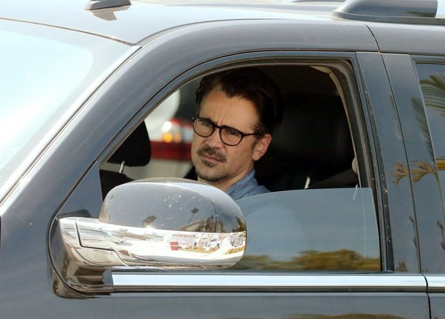 Colin Farrell ca�uje si� w samochodzie z dziewczyn�
