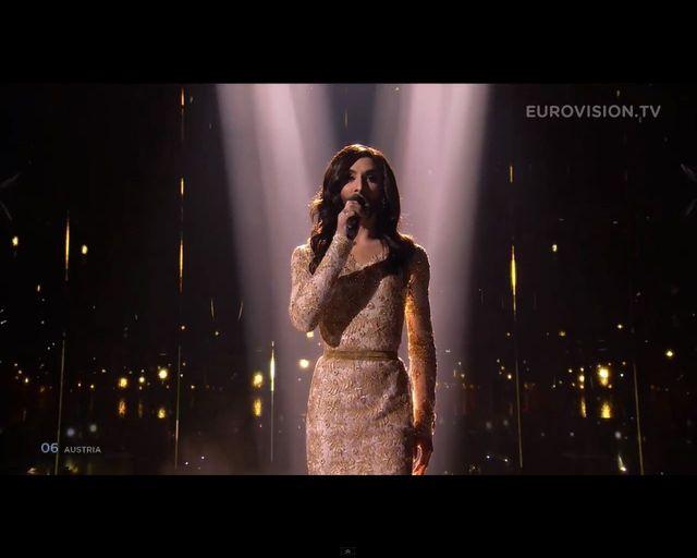 Conchita Wurst wygra�a 59. konkurs Eurowizji 2014 [VIDEO]