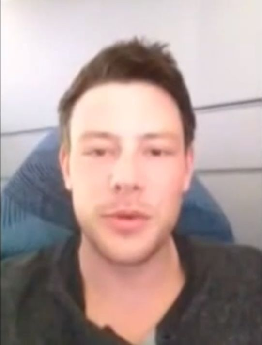Ostatni  filmik Cory'ego Monteitha przed śmiercią (VIDEO)