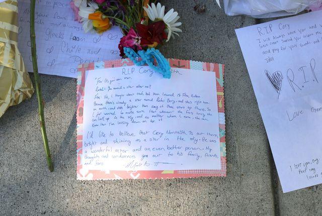 Fani są zdruzgotani śmiercią Cory'ego Monteitha