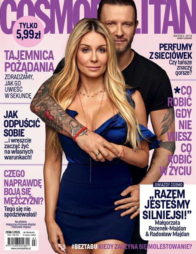 Majdanowie w nowym Cosmopolitan mówią, jak utrzymują OGIEŃ w związku
