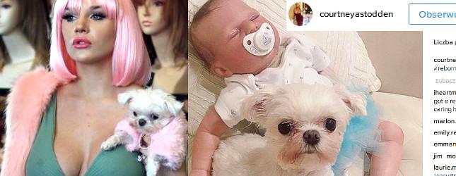 Courtney Stodden poroniła, więc kupiła sobie lalkę
