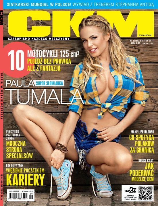 Paula Tumala - kolejna Słowianka rozebrała się dla CKM-u