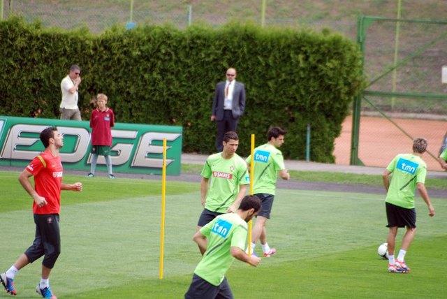 Cristiano Ronaldo na treningu (FOTO)