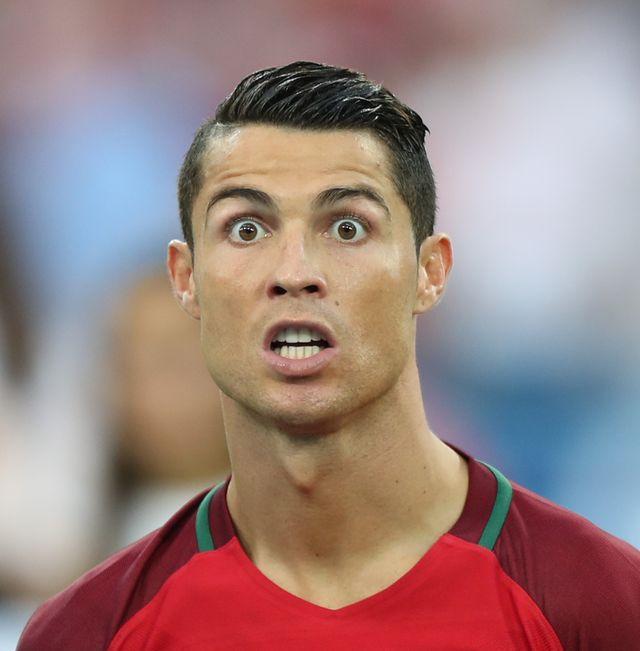 Cristiano Ronaldo i Robert Lewandowski spotkali się po meczu...