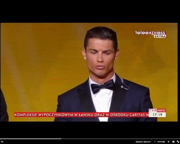 Ryk Cristiano Ronaldo - co oznaczał? [VIDEO]