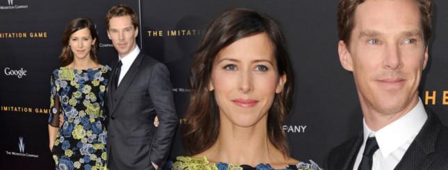 Narzeczona Cumberbatcha debiutuje na czerwonym dywanie FOTO