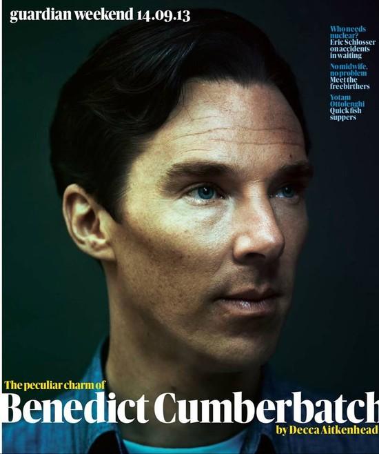 Benedict Cumberbatch: Nie jestem rudy, mam kasztanowe włosy