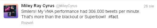 Miley Cyrus osiągnęła szczyt samouwielbienia? (FOTO)