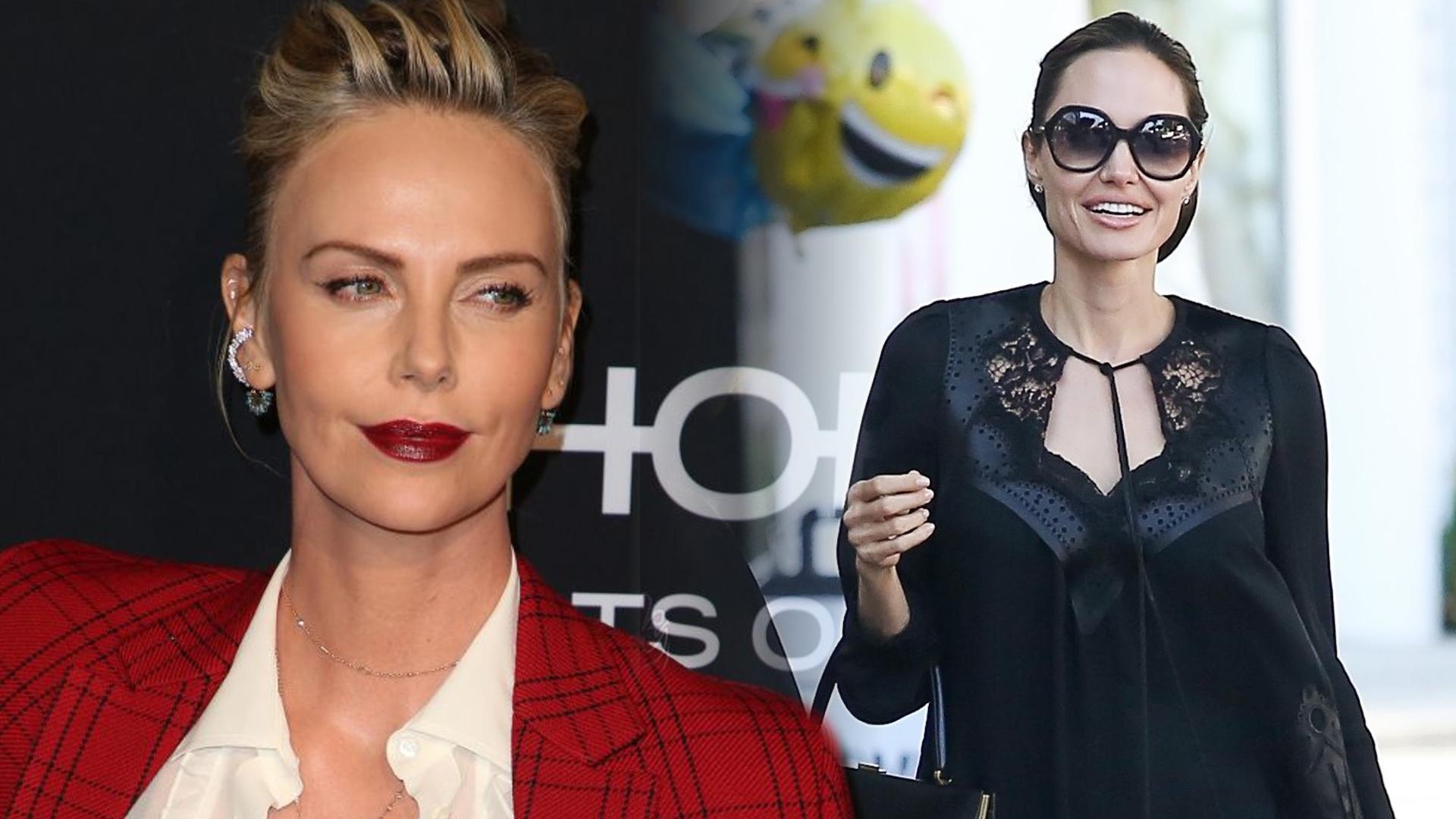 Charlize Theron i Angelina Jolie nie znoszą się od lat! Będzie wojna?